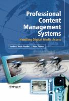 Cover image for Professional content management systems : handling digital media assets