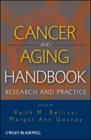 Cover image for Cancer and aging handbook : research and practice