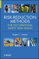 Cover image for Risk reduction methods for occupational safety and health