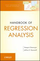 Cover image for Handbook of regression analysis