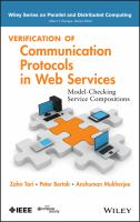 Cover image for Verification of communication protocols in web services : model-checking service compositions