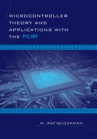 Cover image for Microcontroller theory and applications with the PIC18F