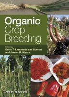 Cover image for Organic crop breeding