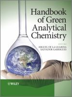 Cover image for Handbook of green analytical chemistry
