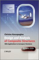 Cover image for Design and analysis of composite structures : with applications to aerospace structures