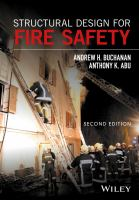 Cover image for STRUCTURAL DESIGN FOR FIRE SAFETY