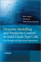 Cover image for Dynamic modeling and predictive control in solid oxide fuel cells : first principle and data-based approaches