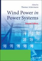 Cover image for Wind power in power systems