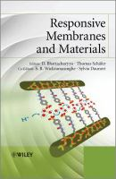 Cover image for Responsive membranes and materials