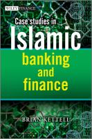 Cover image for Case studies in Islamic banking and finance : case questions & answers