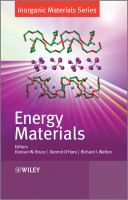 Cover image for Energy materials