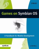 Cover image for Games on Symbian OS : a handbook for mobile development