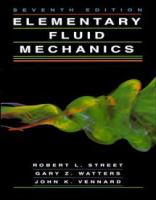 Cover image for Elementary fluid mechanics