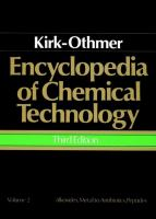 Cover image for Encyclopedia of chemical technology