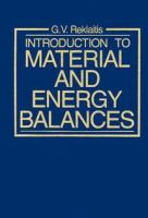 Cover image for Introduction to material and energy balances
