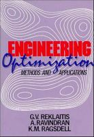 Cover image for Engineering optimization : methods and applications