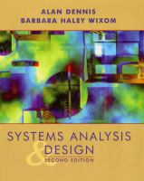 Cover image for Systems analysis design
