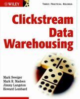 Cover image for Clickstream data warehousing