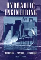 Cover image for Hydraulic engineering