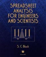 Cover image for Spreadsheet analysis for engineers and scientists