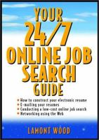 Cover image for Your 24/7 online job search guide