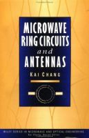 Cover image for Microwave ring circuits and antennas