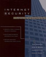 Cover image for Internet security for business