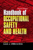 Cover image for Handbook of occupational safety and health