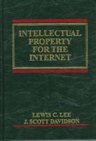 Cover image for Intellectual property for the Internet