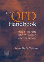 Cover image for The QFD handbook