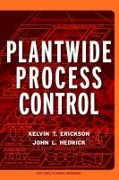 Cover image for Plantwide process control
