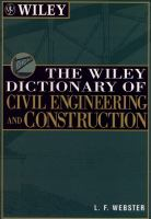 Cover image for The Wiley dictionary of civil engineering and construction