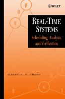 Cover image for Real-time systems : scheduling, analysis, and verification
