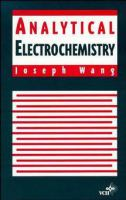 Cover image for Analytical electrochemistry