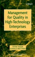 Cover image for Management for quality in high-technology enterprises
