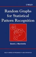 Cover image for Random graphs for statistical pattern recognition