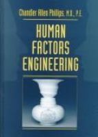 Cover image for Human factors engineering