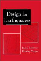 Cover image for Design for earthquakes