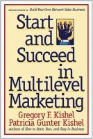 Cover image for Start and succeed in multilevel marketing