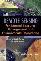 Cover image for Manual remote sensing