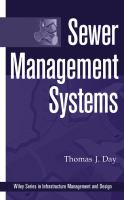 Cover image for Sewer management systems