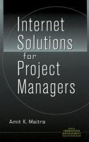 Cover image for Internet solutions for project managers