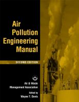 Cover image for Air pollution engineering manual