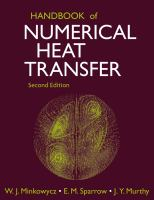 Cover image for Handbook of numerical heat transfer