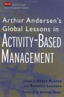 Cover image for Arthur Andersen's global lessons in activity-based management