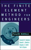 Cover image for The finite element method for engineers