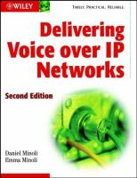 Cover image for Delivering voice over IP networks