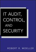 Cover image for IT audit, control, and security