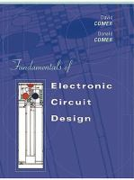 Cover image for Fundamentals of electronic circuit design