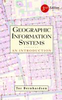 Cover image for Geographic information systems :  an introduction